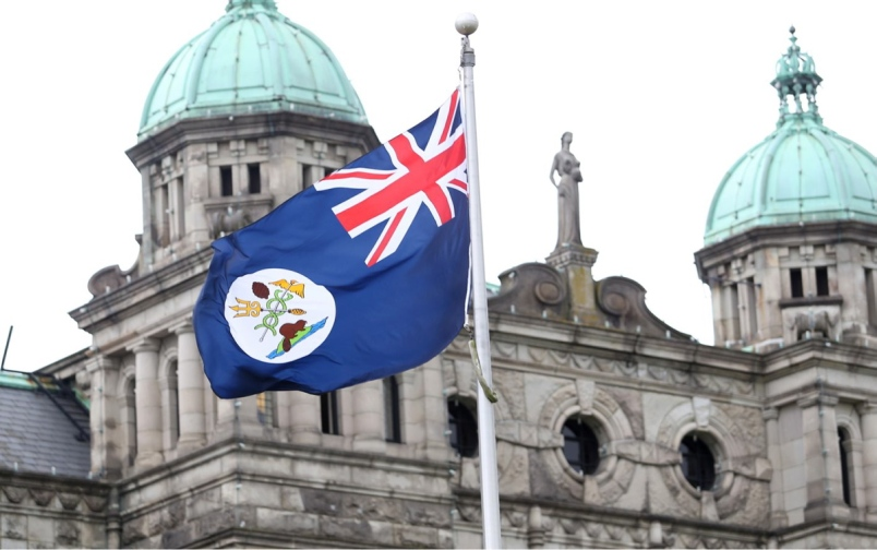Vancouver Island Flag Legislature